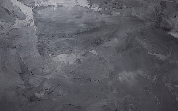 Pared de cemento gris con textura de estuco, fondo de hormigón