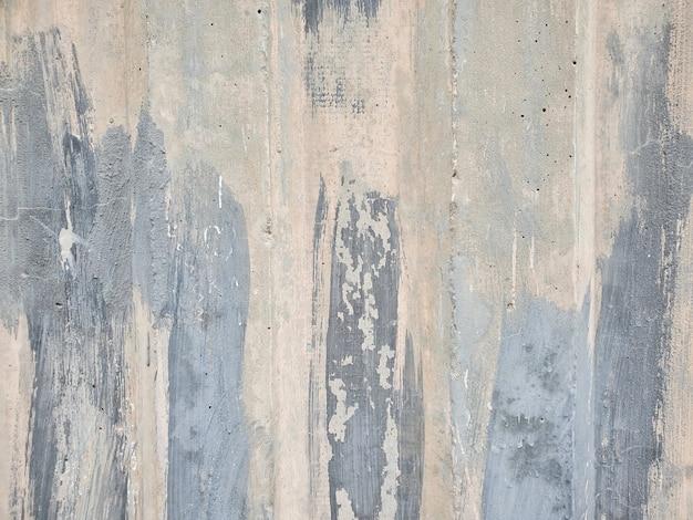 Pared de cemento pintado