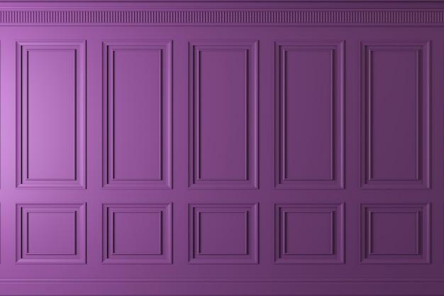 Pared clásica de paneles de madera oscura. diseño y tecnología