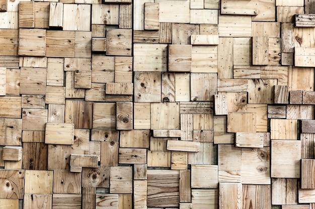 Pared exterior de madera
