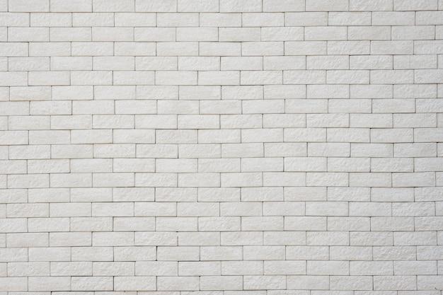 Pared de ladrillo blanco para fondo y textura