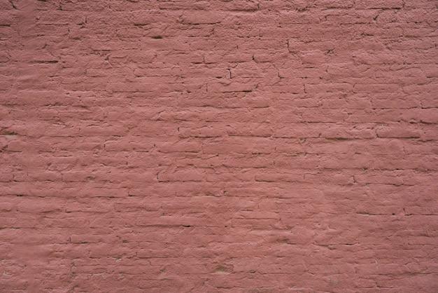 Pared de ladrillos de color violeta