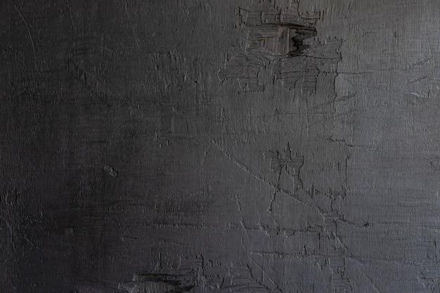 Pared de madera negra
