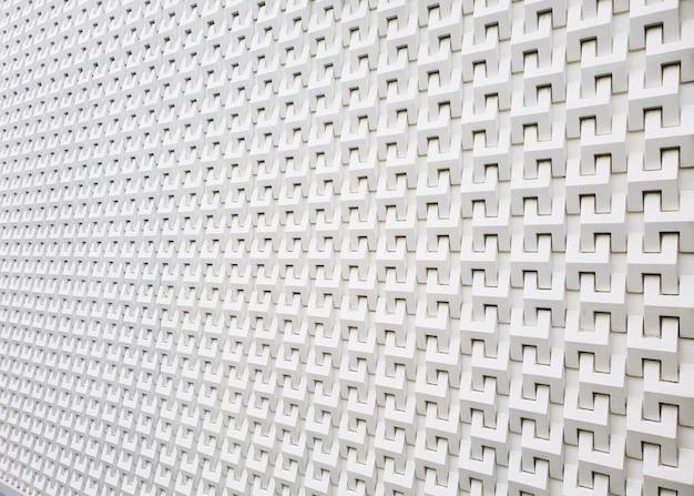 Pared moderna blanca para el fondo de la textura