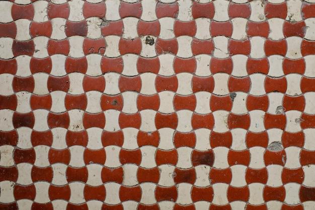 Pared con mosaico antiguo. antecedentes para el diseño. foto de alta calidad