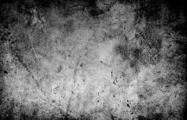 Pared oscura de grunge