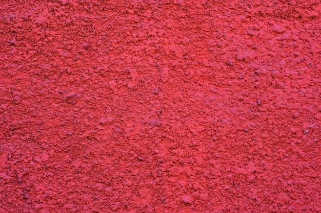 Pared pintada de cemento, color rosa vivo