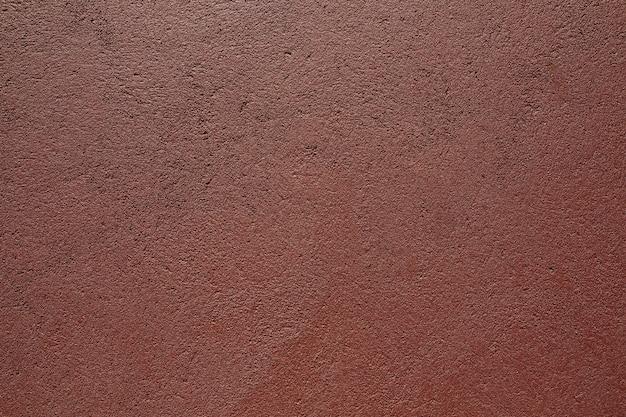 Pared pintada de rojo