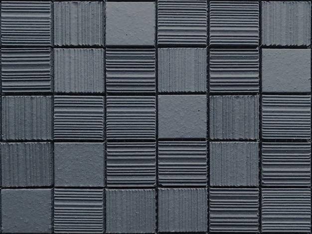 Pared de textura de patrón de bloque de ladrillo cuadrado de piedra de diseño moderno al azar