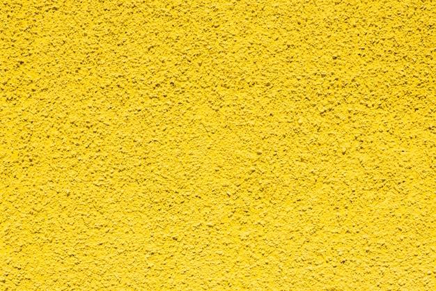 Pared de yeso amarillo