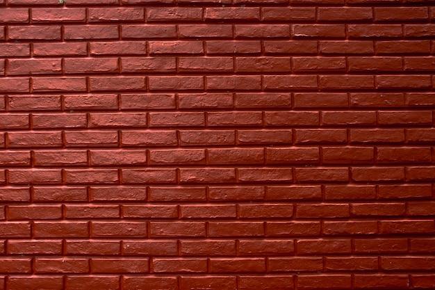 Paredes de bloques de ladrillo rojo, fondo de textura de cemento rojo abstracto