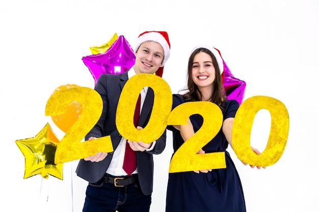 Pareja celebración año 2020