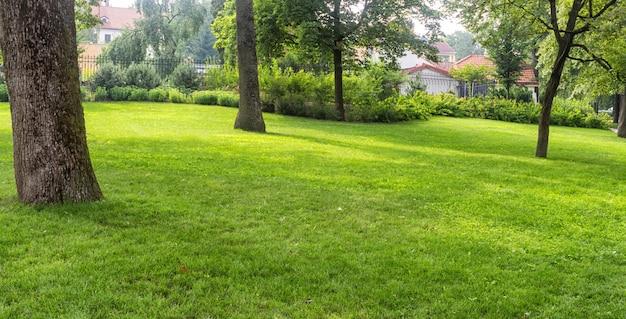 Parque de los jardines bernardine en el centro de vilnius
