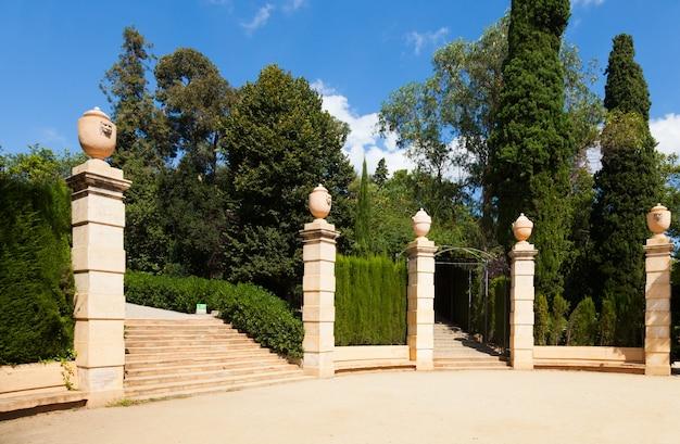 Parque del laberinto de horta en barcelona