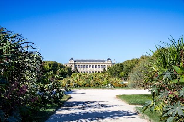 Parque y museo jardin des plantes, parís, francia