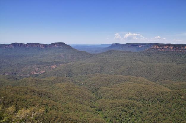Parque nacional blue mountains, australia