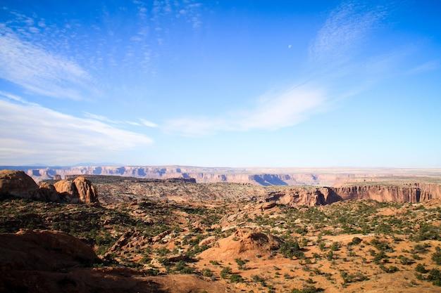 Parque nacional canyonlands, utah, ee.