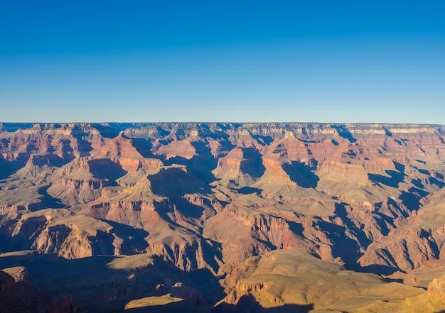 Parque nacional del gran cañón. (imagen procesada vendimia filtrada