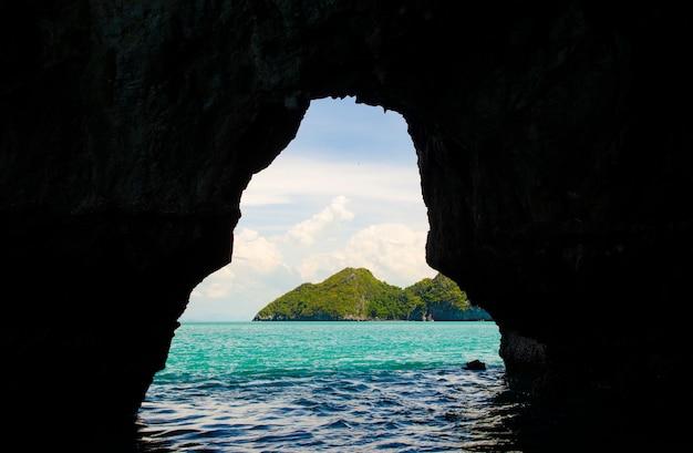 Parque nacional marino de angthong, koh samui, suratthani, tailandia