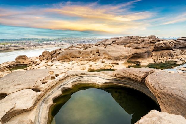 Parque de piedra natural