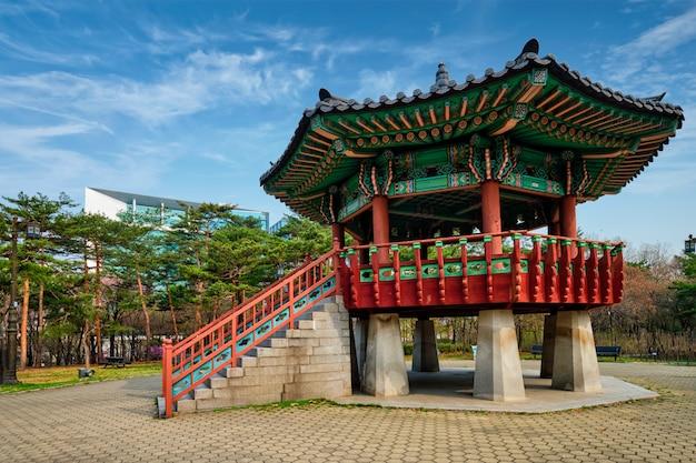Parque yeouido en seúl, corea