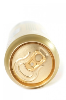 Parte superior de la lata cerrada