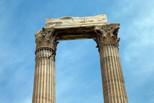 Partenón en la acrópolis de atenas, grecia Foto Premium