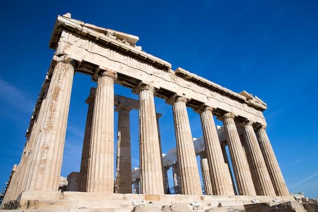 Partenón en la acrópolis
