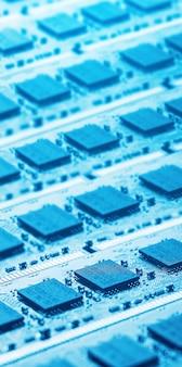 Partes de la computadora brillante
