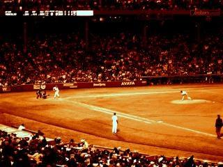 Partido de béisbol fenway, fenway
