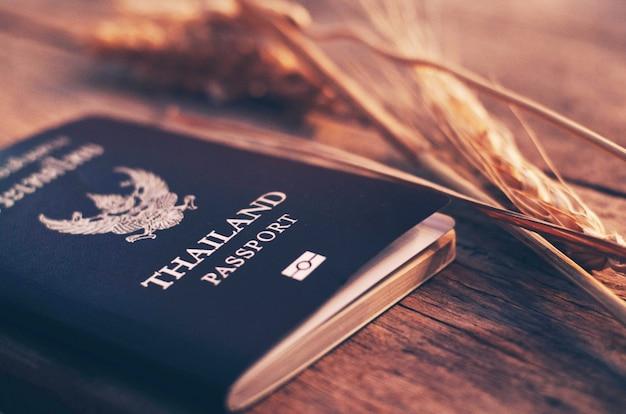 Pasaporte tailandia