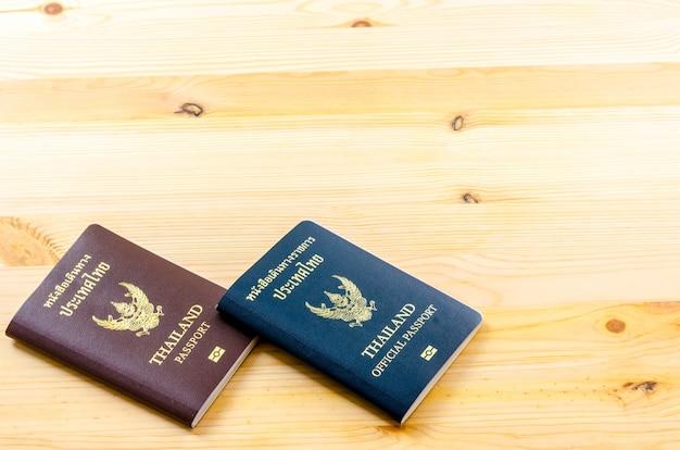 Pasaporte de tailandia