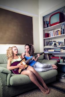 Pasión adolescente por la música.