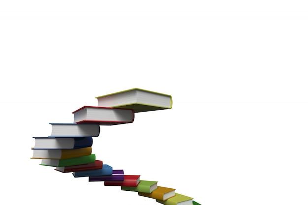 Pasos hechos de libros