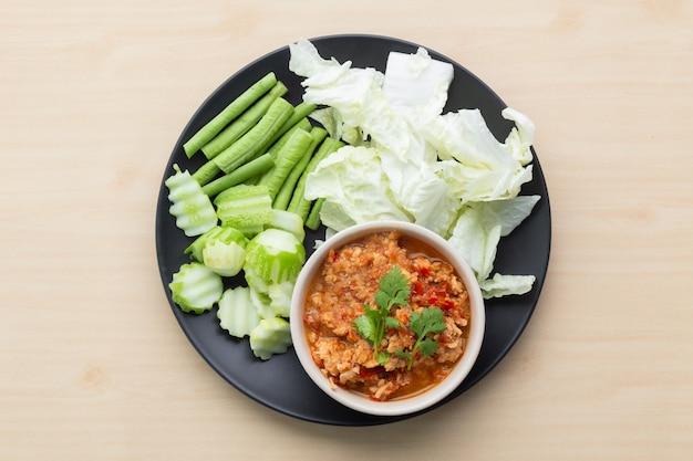Pasta de chile al estilo del norte de tailandia