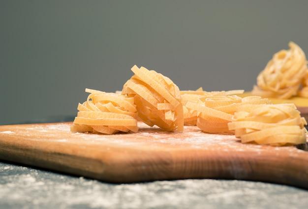 Pasta italiana seca