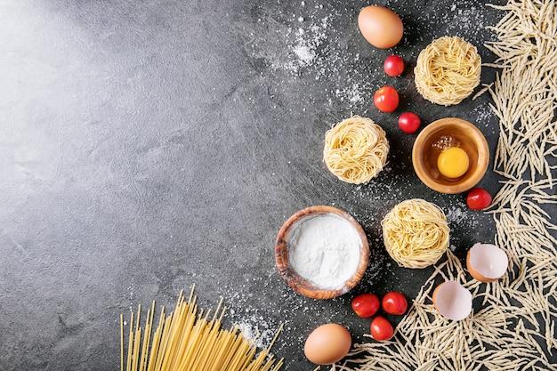 Pasta italiana tradicional