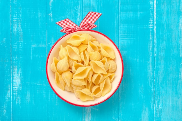 Pasta seca de macarrones