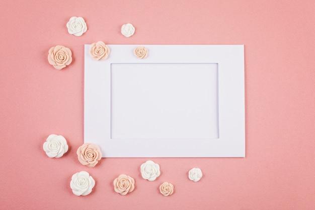 Pastel decorativos de fondo minimalista.