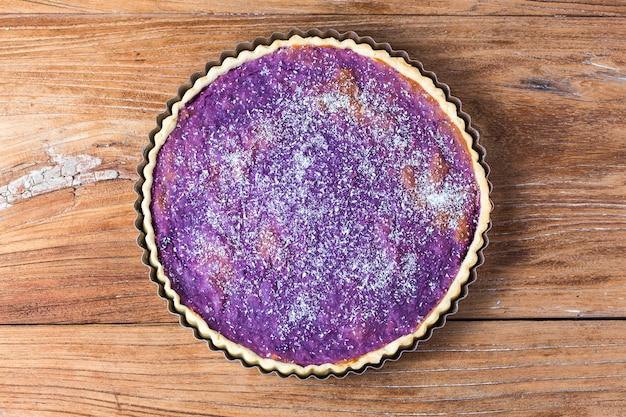 Pastel de patata púrpura, patata púrpura