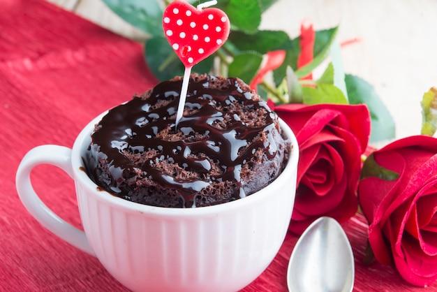Pastel de taza para un día especial
