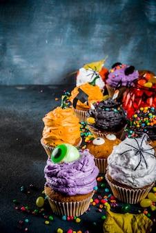 Pastelitos infantiles divertidos para halloween