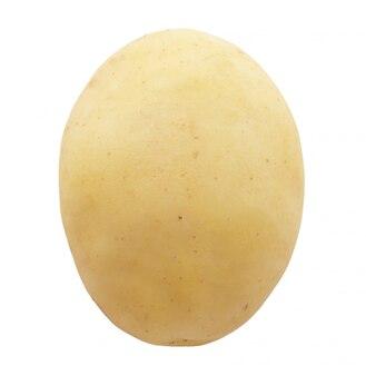 Patata aislado sobre fondo blanco.
