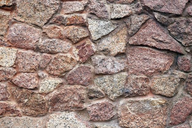 Patrón abstracto de un muro de piedra