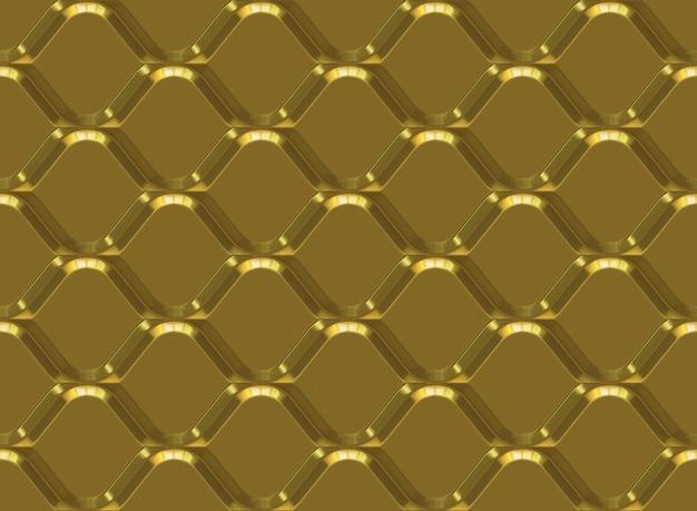 Patrón de adorno de oro. modelo inconsútil árabe.