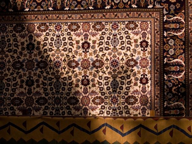 Patrón en alfombra turca