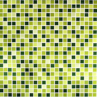 Patrón en los azulejos en la pared del baño.