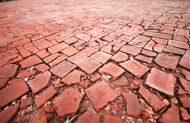 Patrón de azulejos de piso de la calle