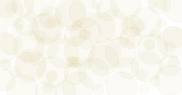 Patrón de bokeh borrosa sobre fondo blanco de superficie para sitio web decorativo y tarjeta o diseño gráfico