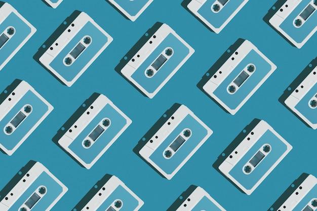 Patrón de cassete de audio
